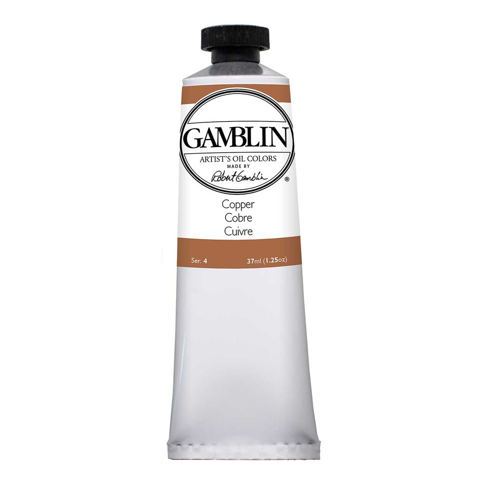 Gamblin Artist Oil 37Ml Copper