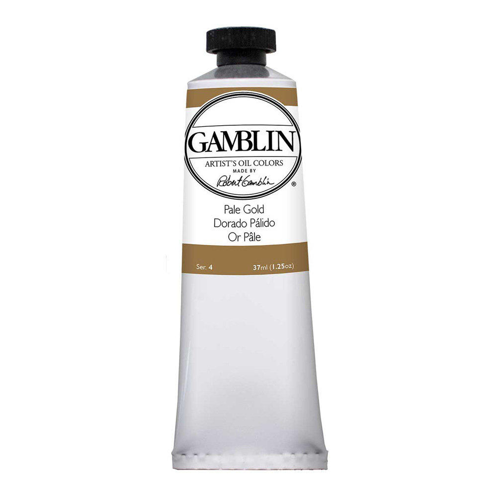 Gamblin Artist Oil 37Ml Pale Gold
