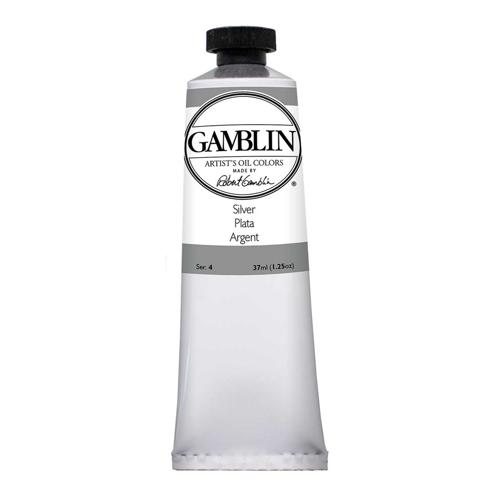 Gamblin Artist Oil 37Ml Silver