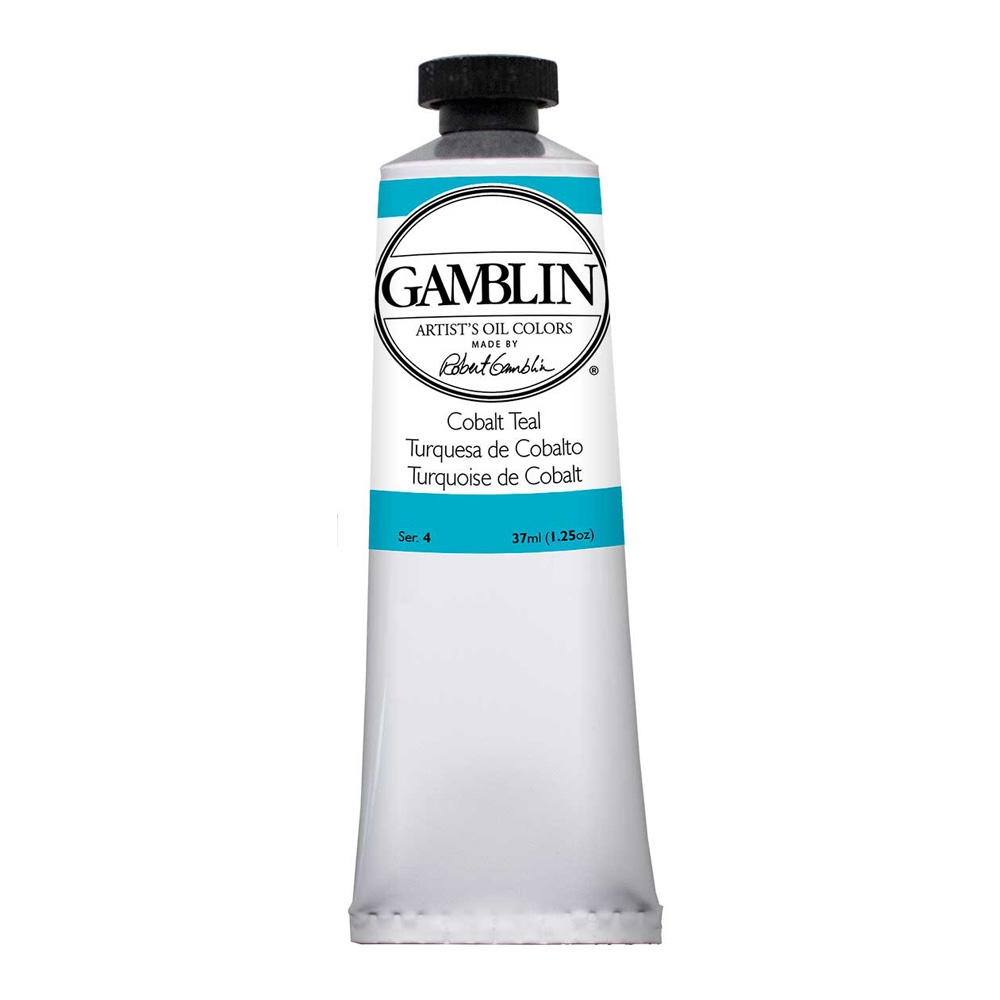 Gamblin Artist Oil 150Ml Cobalt Teal