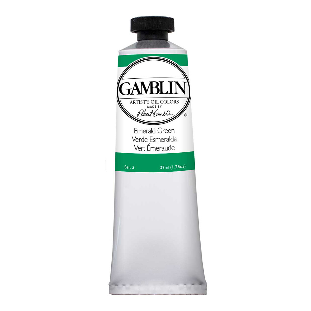 Gamblin Artist Oil 37Ml Emerald Green
