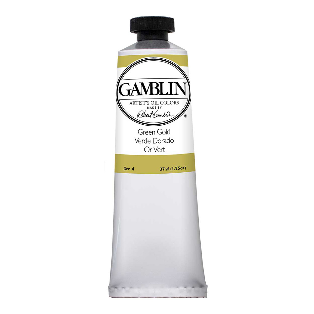 Gamblin Artist Oil 150Ml Green Gold
