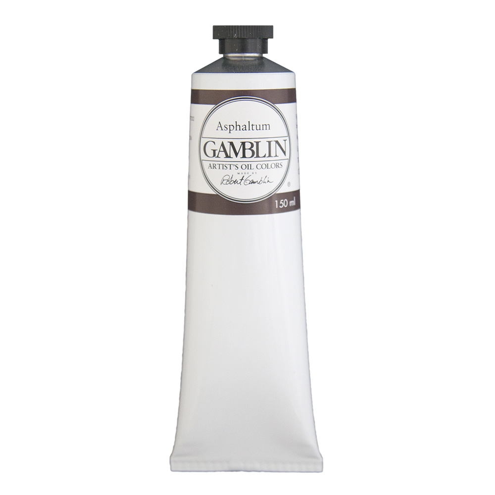 Gamblin Artist Oil 150Ml Asphaltum