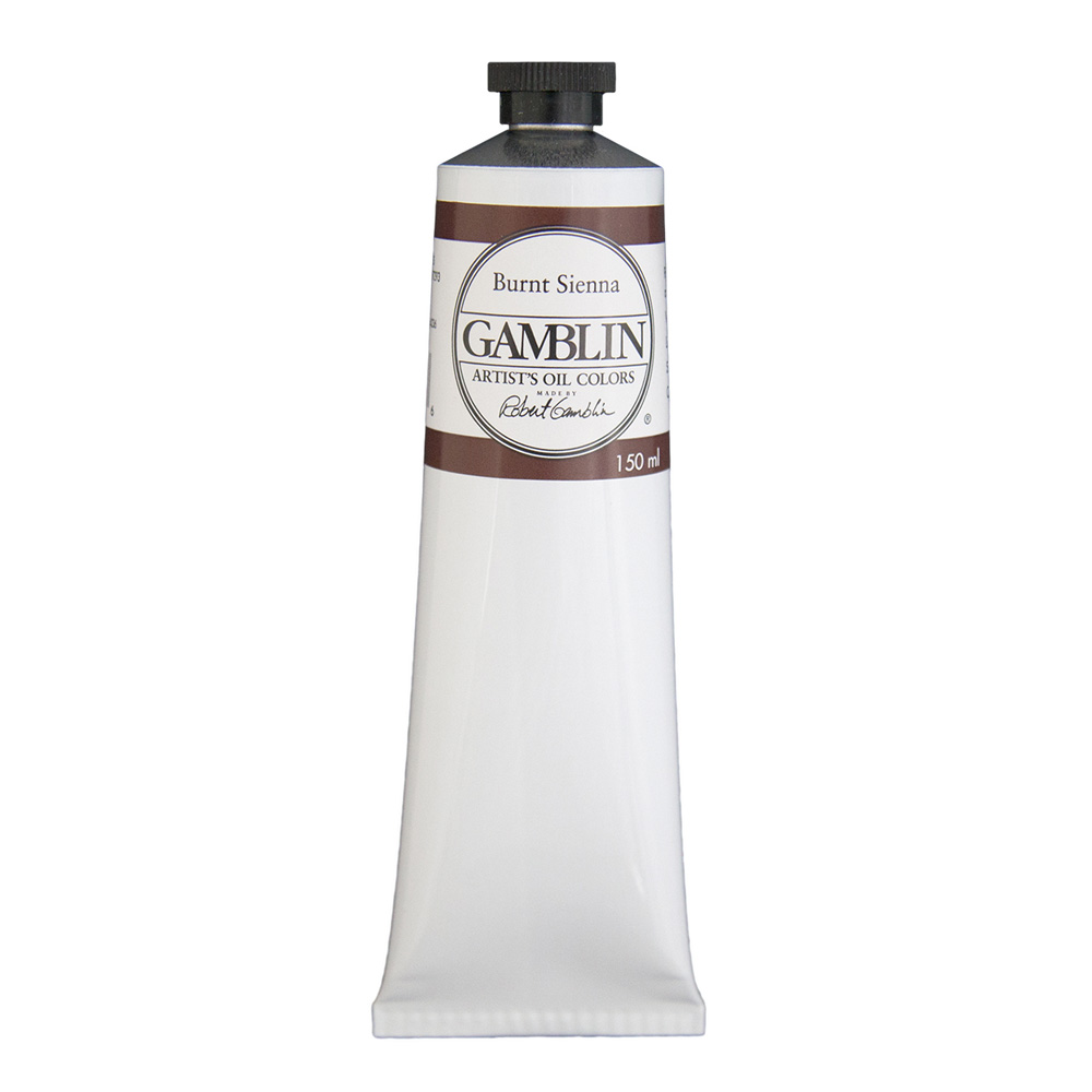 Gamblin Artist Oil 150Ml Burnt Sienna