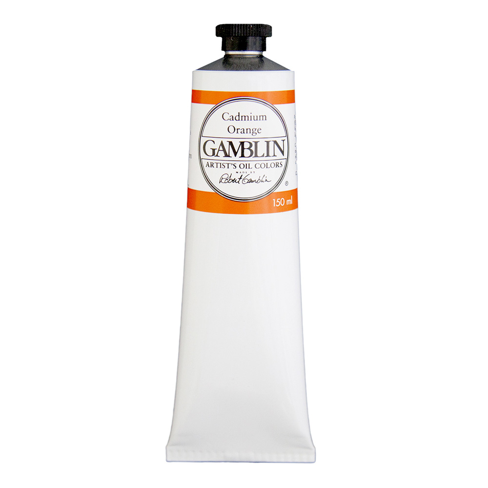 Gamblin Artist Oil 150Ml Cadmium Orange
