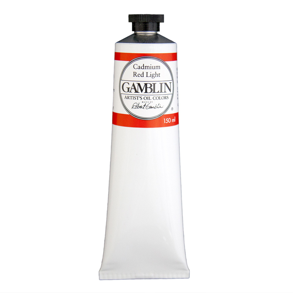 Gamblin Artist Oil 150Ml Cadmium Red Lt