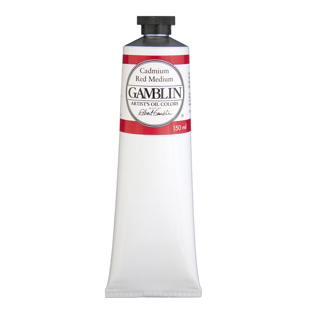Gamblin Artist Oil 150Ml Cadmium Red Med