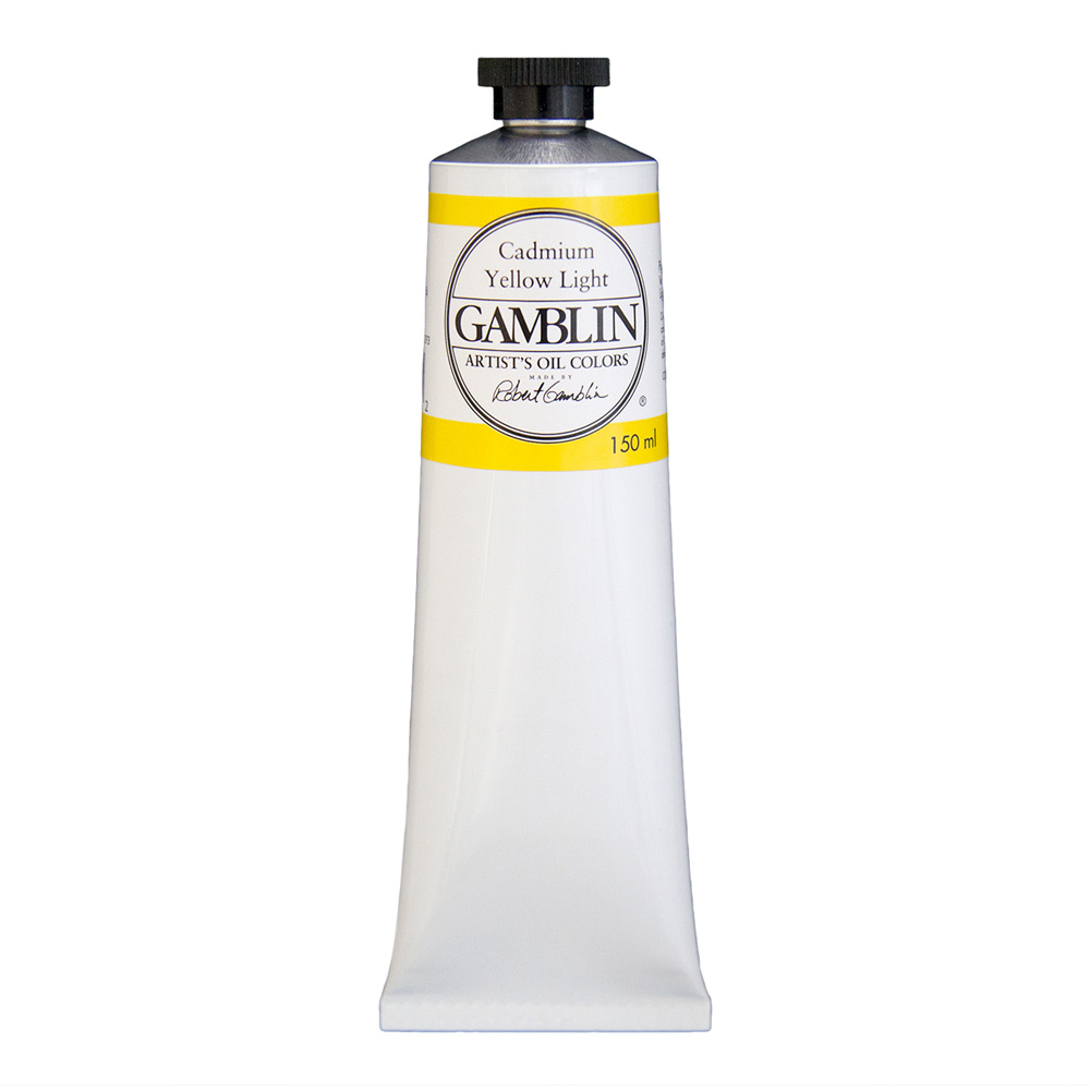 Gamblin Artist Oil 150Ml Cadmium Yellow Lt
