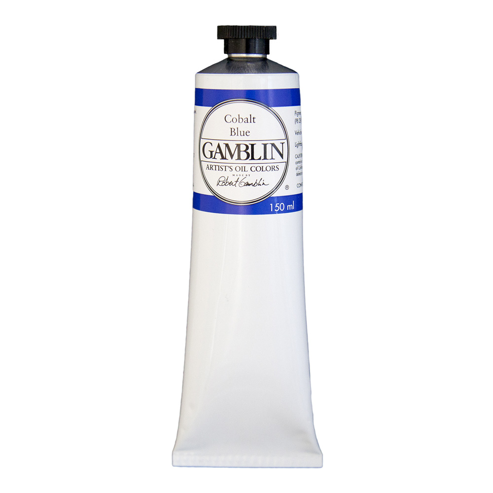 Gamblin Artist Oil 150Ml Cobalt Blue