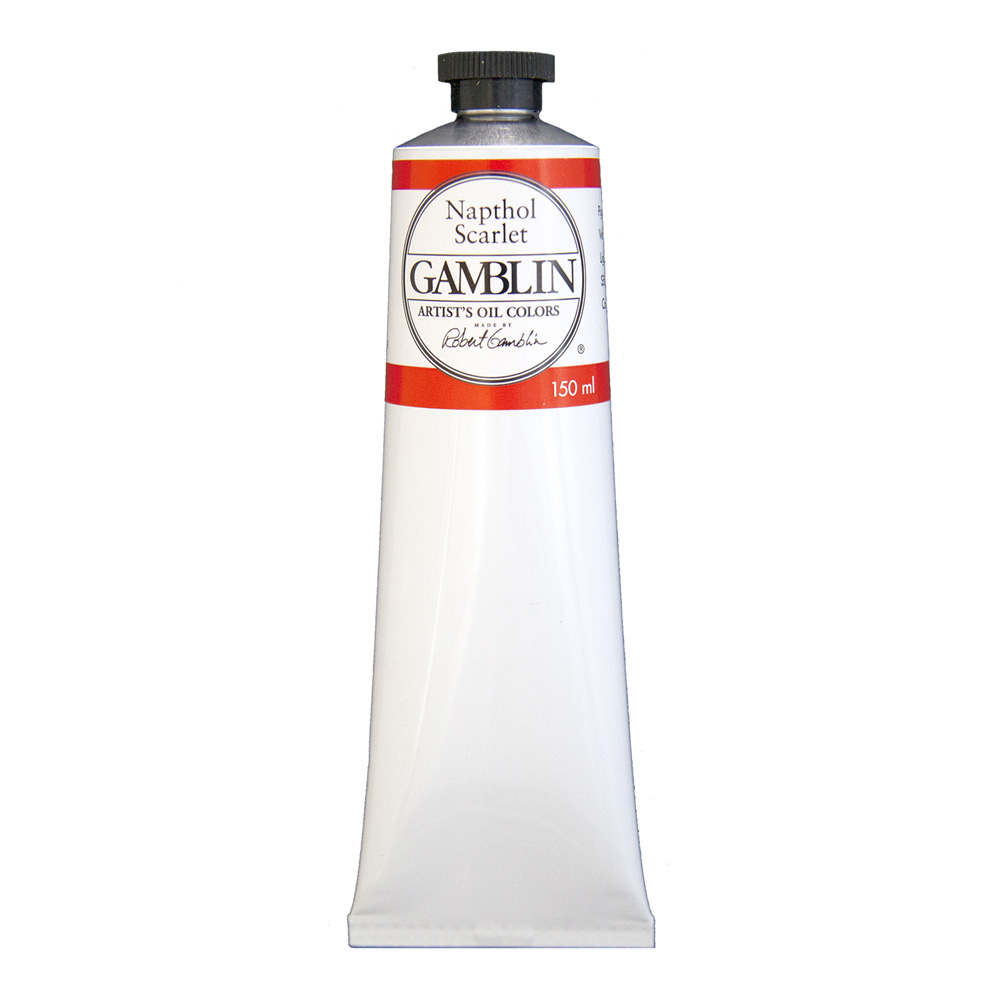 Gamblin Artist Oil 150Ml Napthol Scarlet