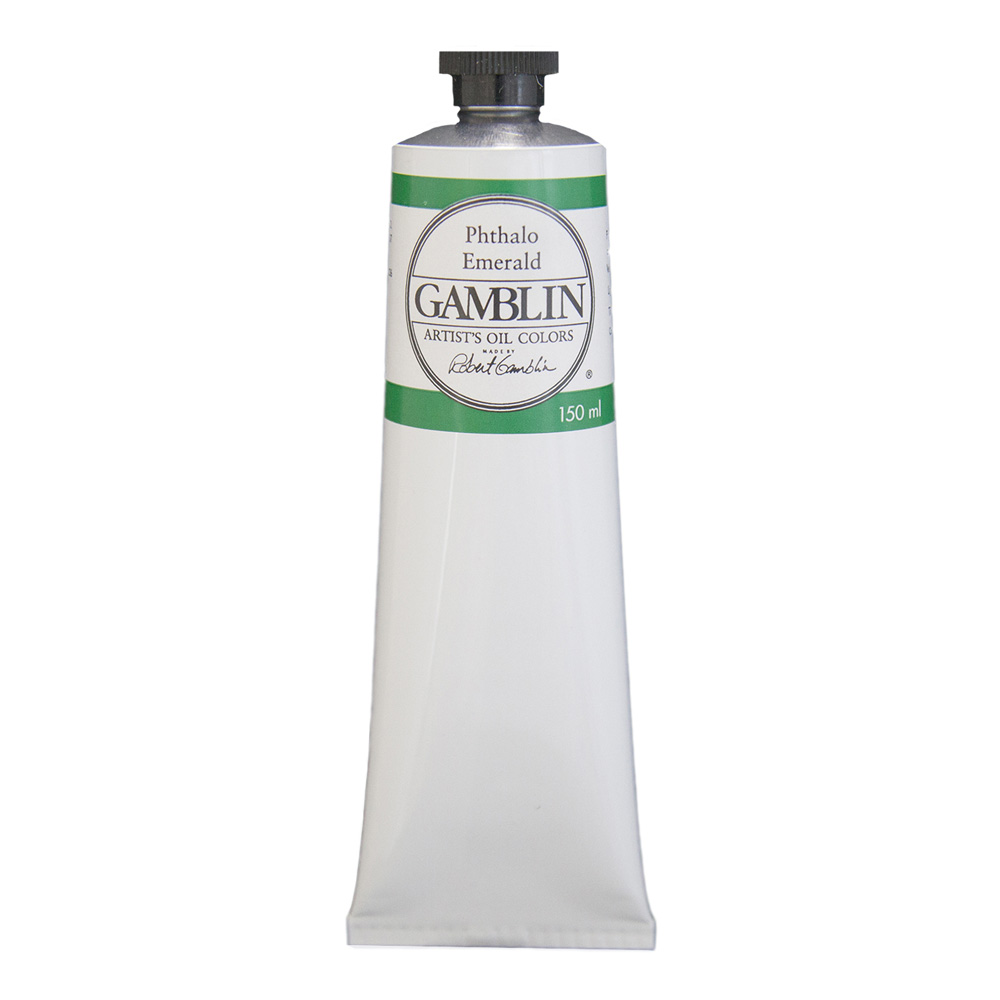Gamblin Artist Oil 150Ml Phthalo Emerald