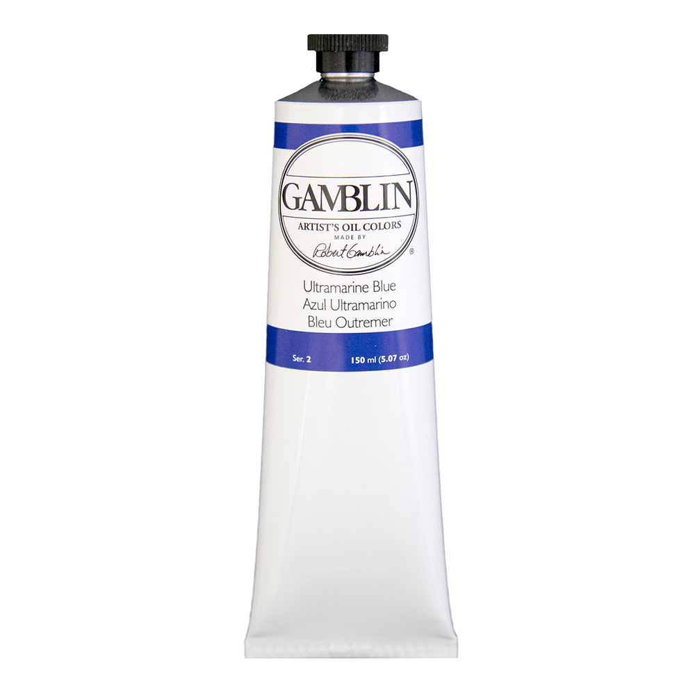 Gamblin Artist Oil 150Ml Ultramarine Blue