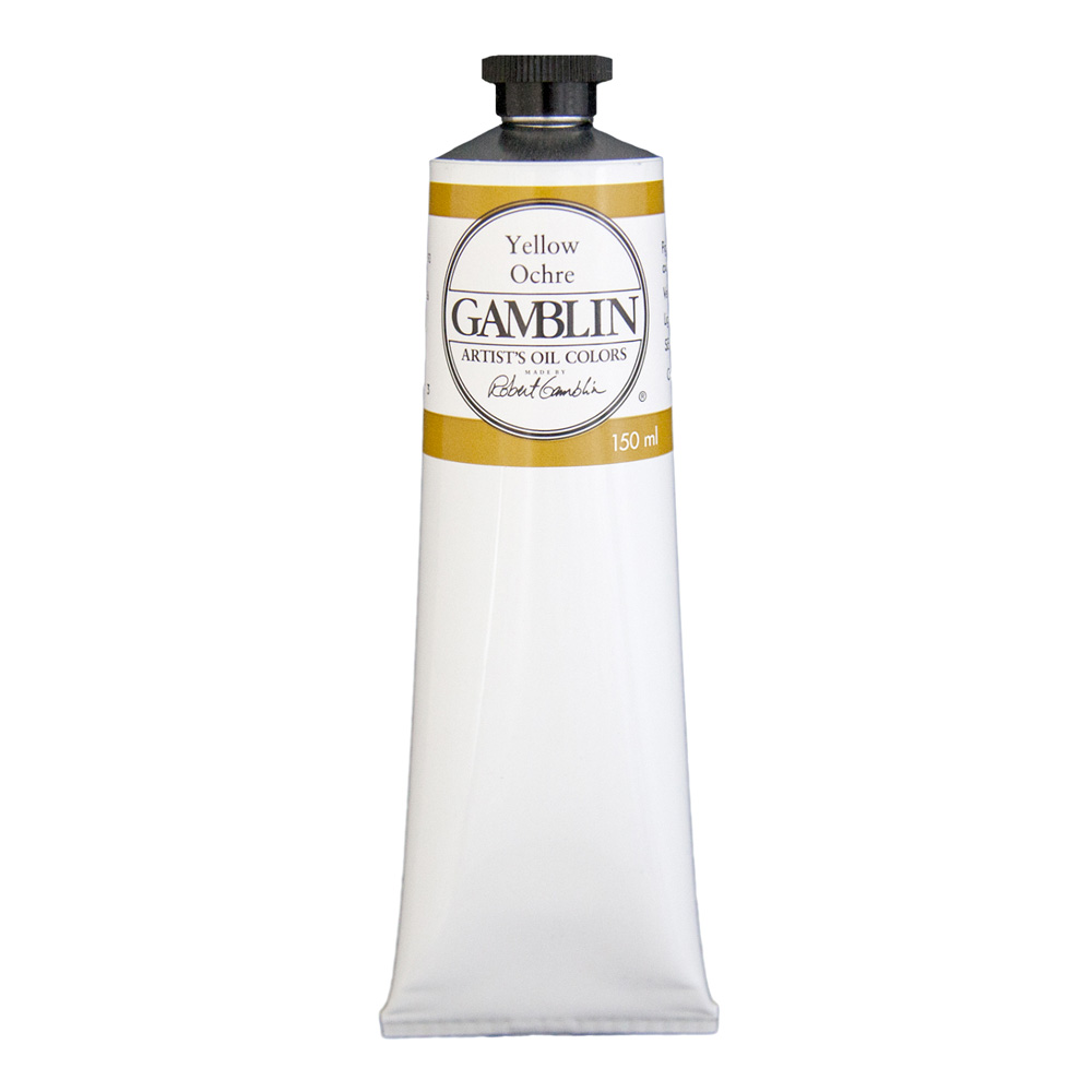 Gamblin Artist Oil 150Ml Yellow Ochre