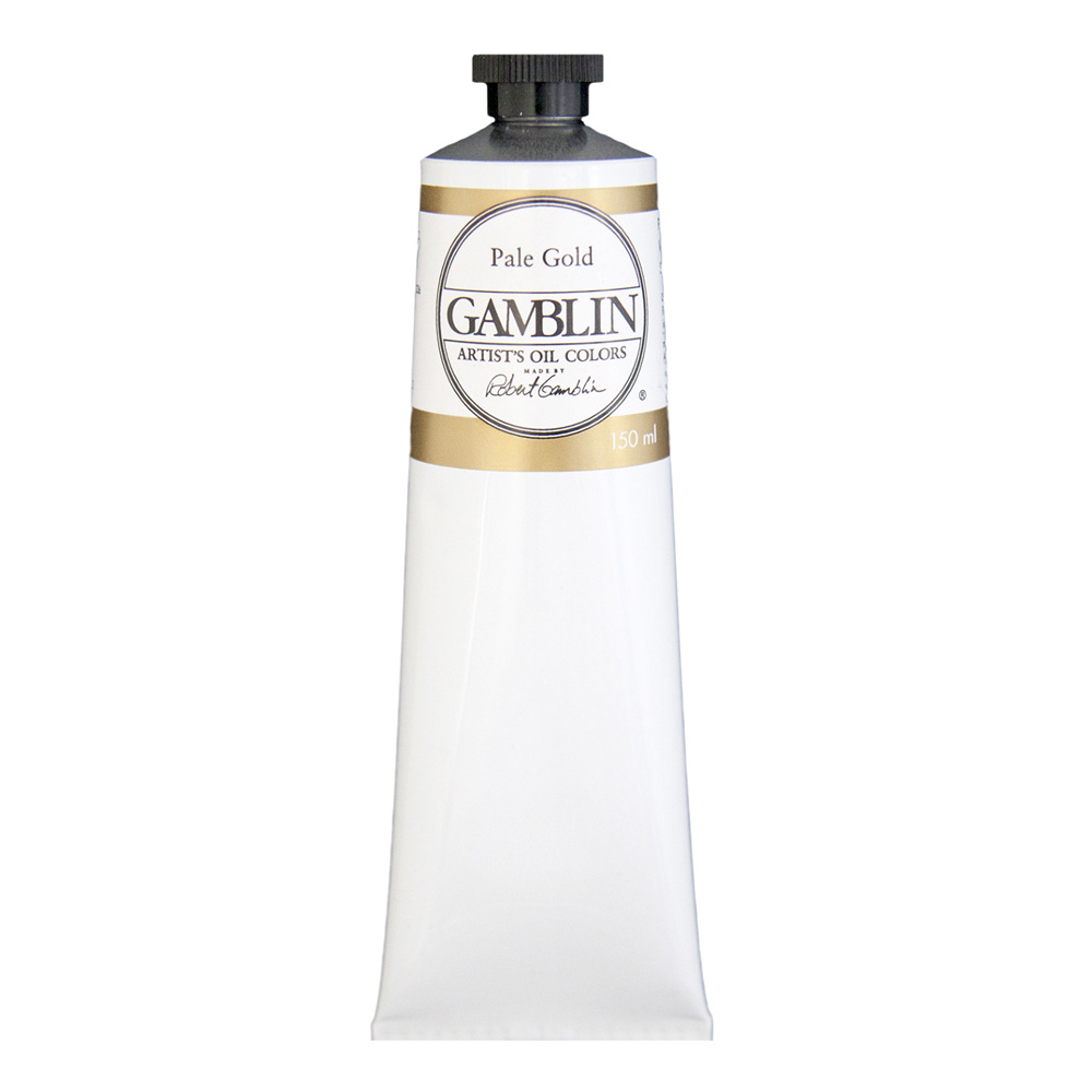 Gamblin Artist Oil 150Ml Pale Gold