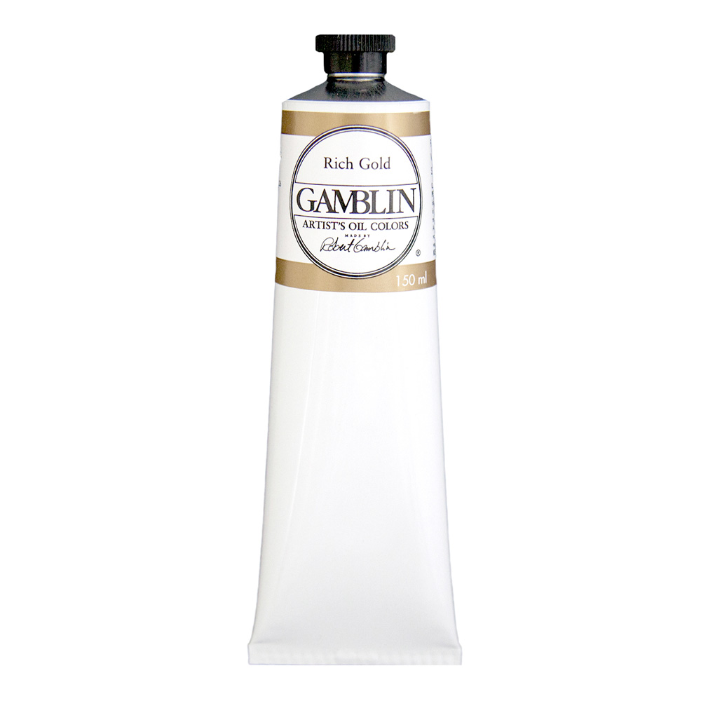 Gamblin Artist Oil 150Ml Rich Gold