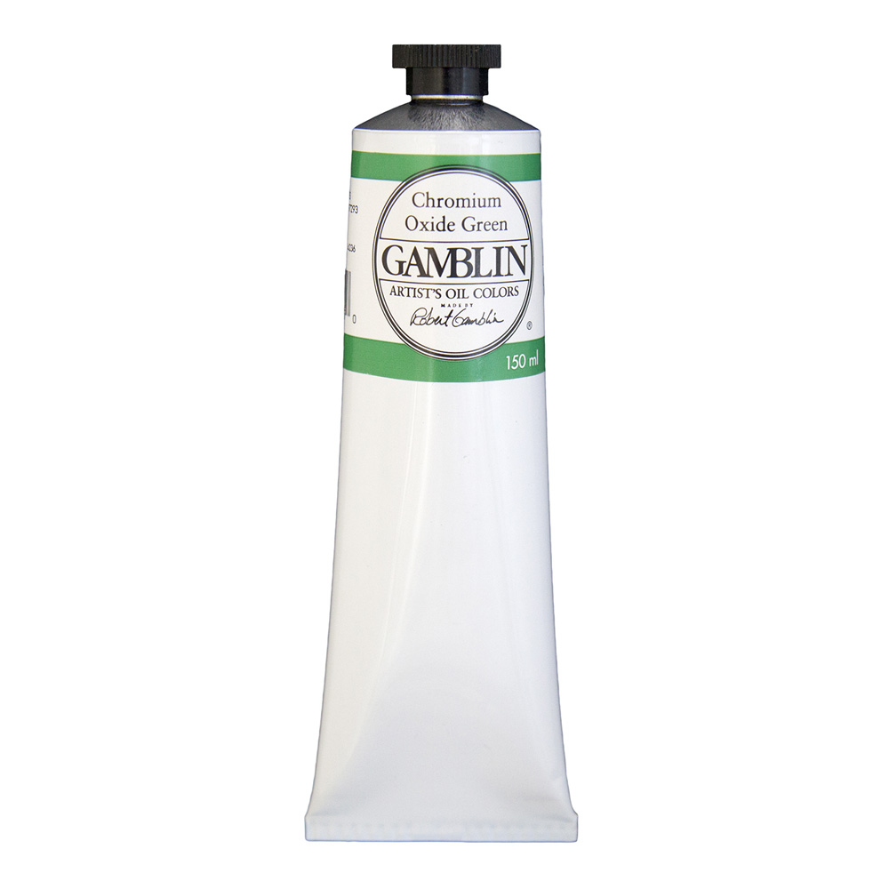 Gamblin Artist Oil 150Ml Chrom Oxide Green