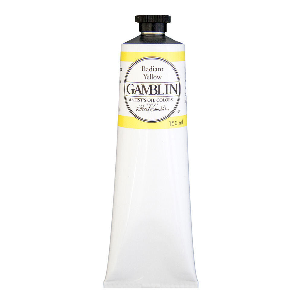 Gamblin Artist Oil 150Ml Radiant Yellow