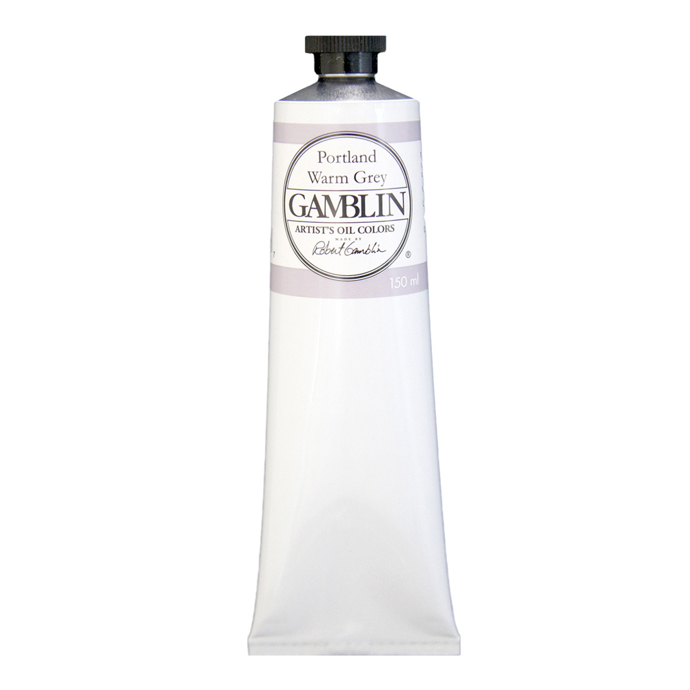 Gamblin Artist Oil 150Ml Portland Warm Grey