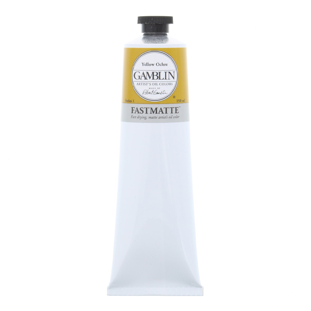 Gamblin FastMatte Yellow Ochre 150Ml