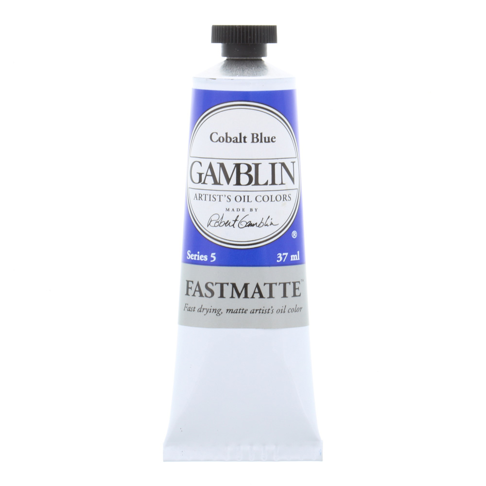 Gamblin FastMatte Cobalt Blue 37Ml