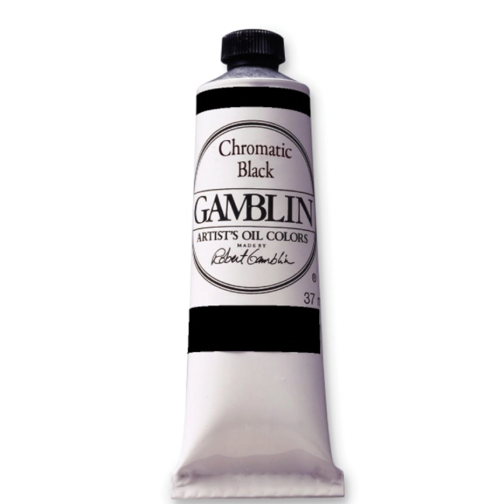 Gamblin Fastmatte Chromatic Black 37Ml