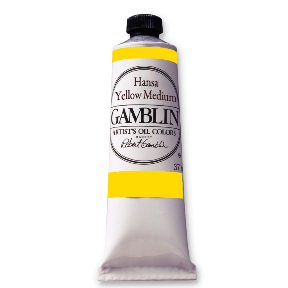 Gamblin Fastmatte Hansa Yellow Medium 37Ml