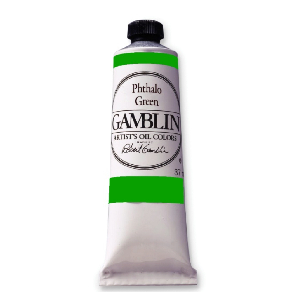 Gamblin Fastmatte Phthalo Green 37Ml