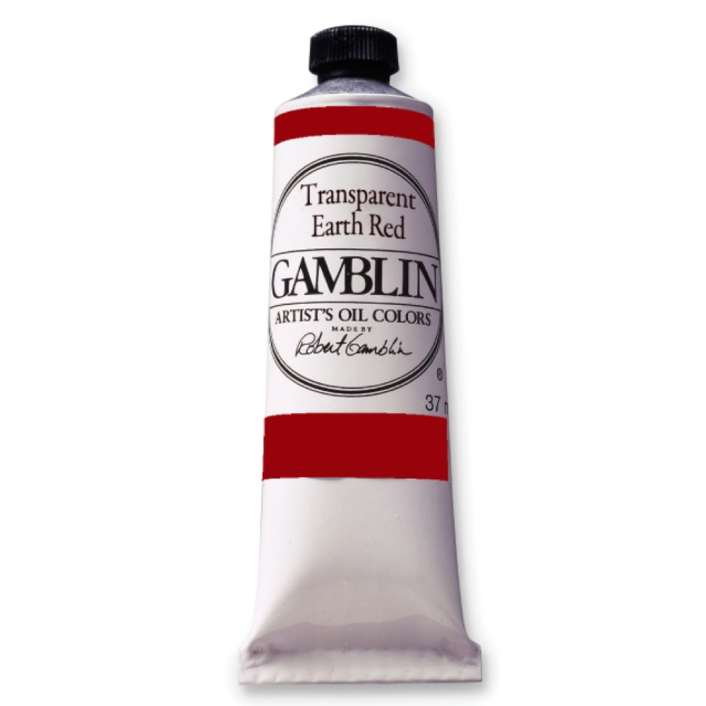 Gamblin Fastmatte Transparent Earth Red 37Ml