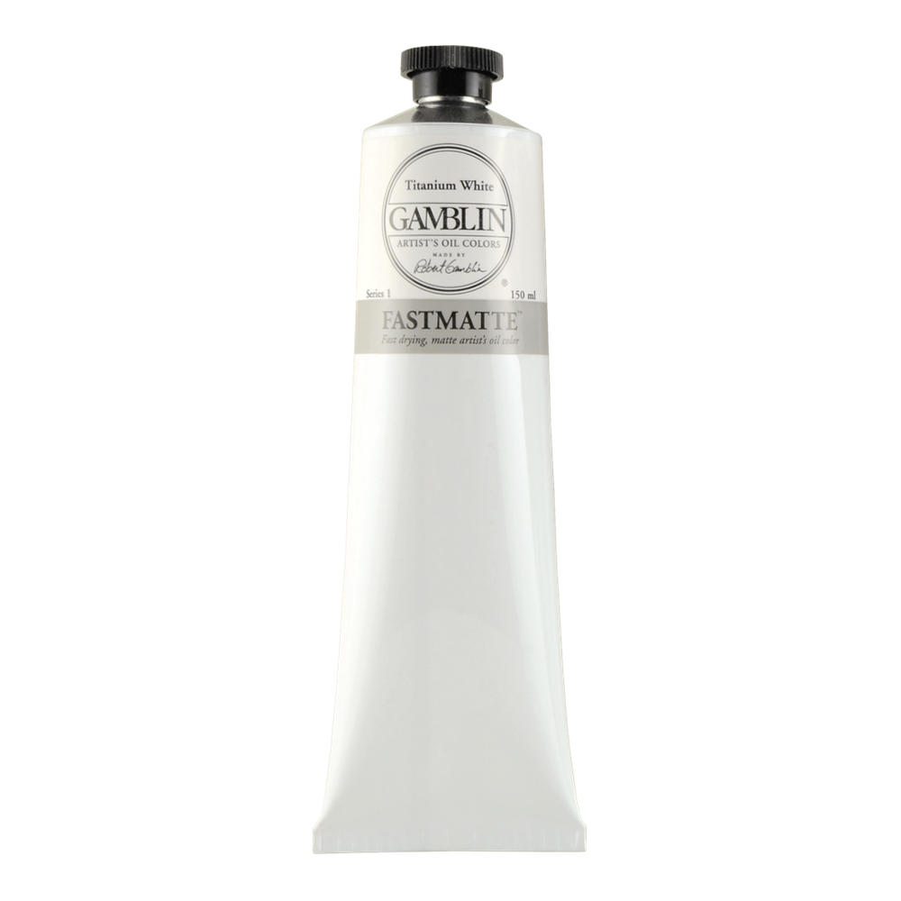 Gamblin Fastmatte Titanium White 150Ml