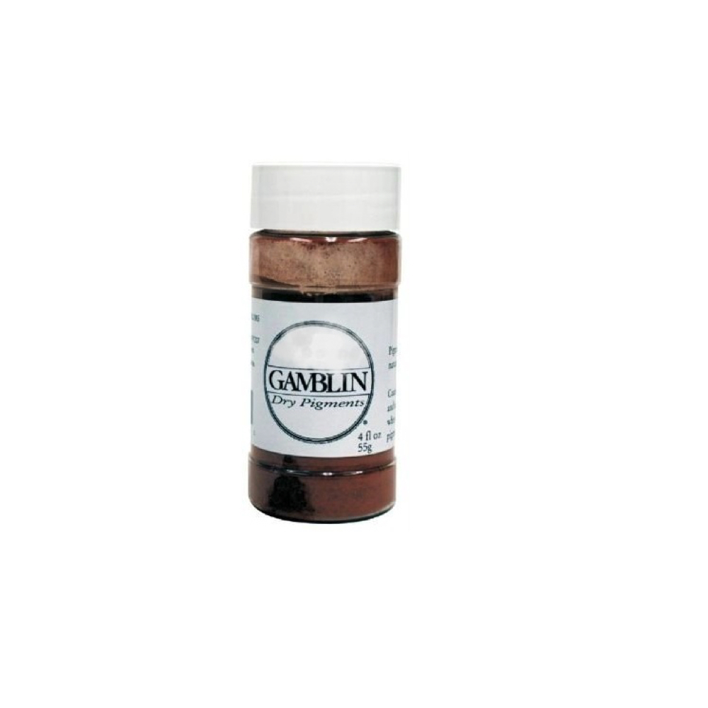 Gamblin Dry Pigment 4 Oz Burnt Umber