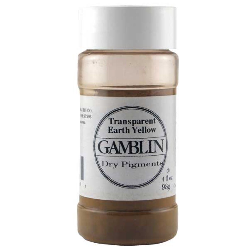 Gamblin Dry Pigment 4 Oz Trans Earth Yellow