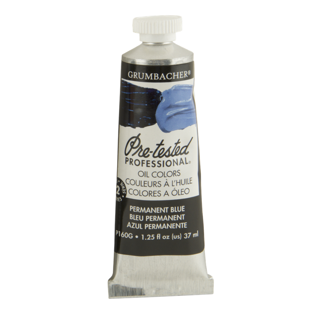 Pre-Tested Oil 37ml Permanent Blue