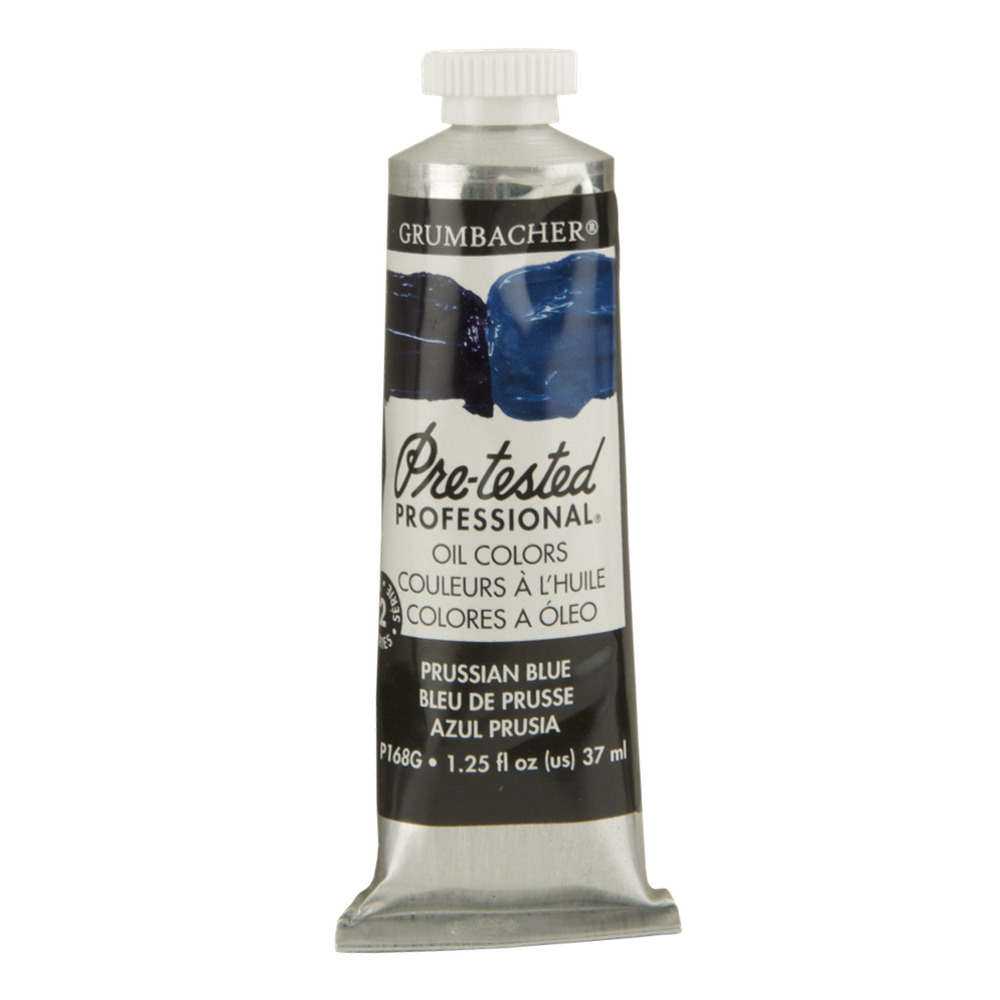 Pre-Tested Oil 37Cc Prussian Blue