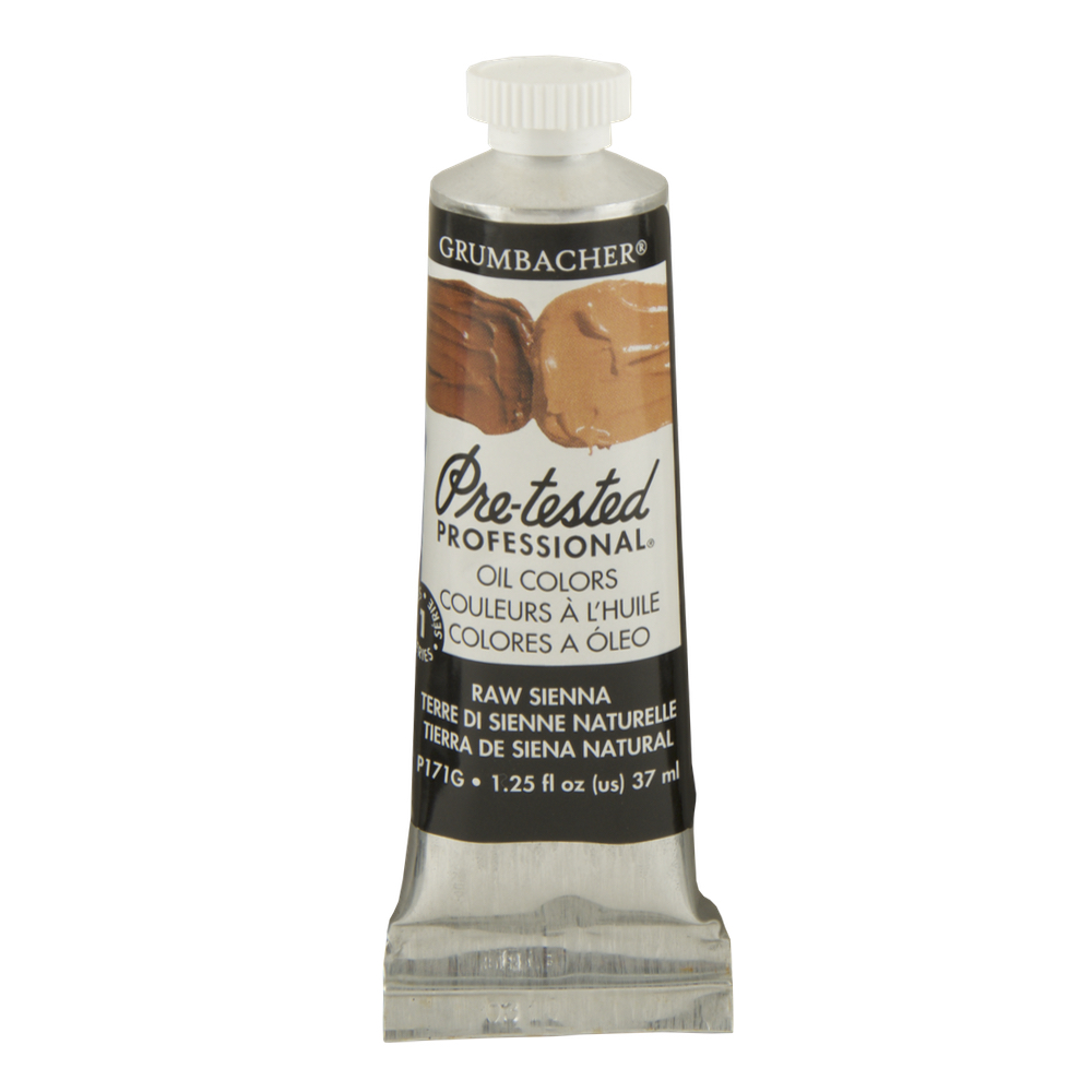 Pre-Tested Oil 37ml Raw Sienna