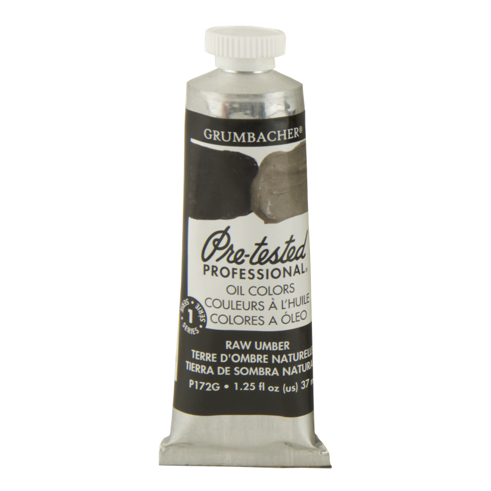 Pre-Tested Oil 37ml Raw Umber