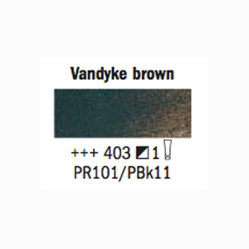 Rembrandt Oil 40Ml Van Dyke Brown