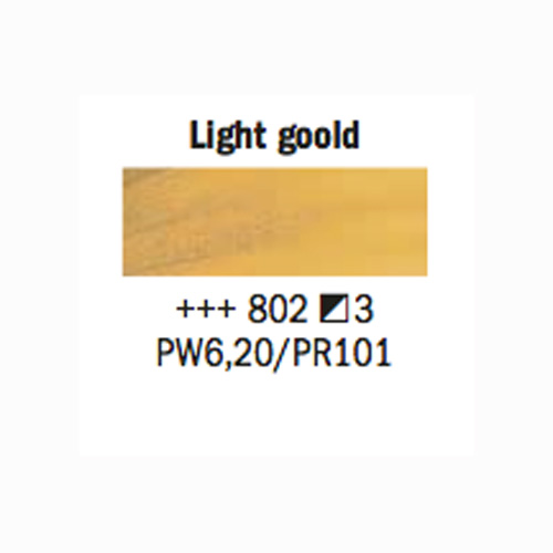 Rembrandt Oil 40Ml Light Gold