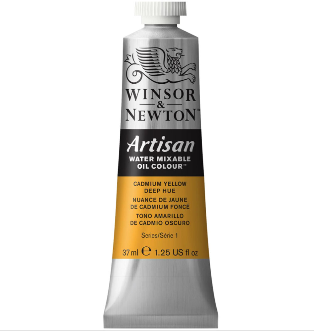 Artisan Oil 37Ml Cadmium Yellow Deep