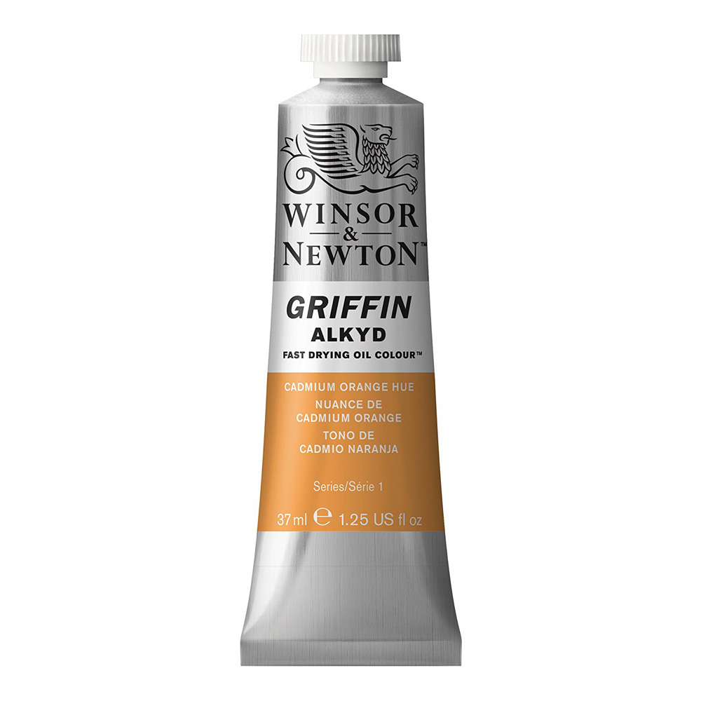 Griffin Alkyd 37Ml Cadmium Orange Hue