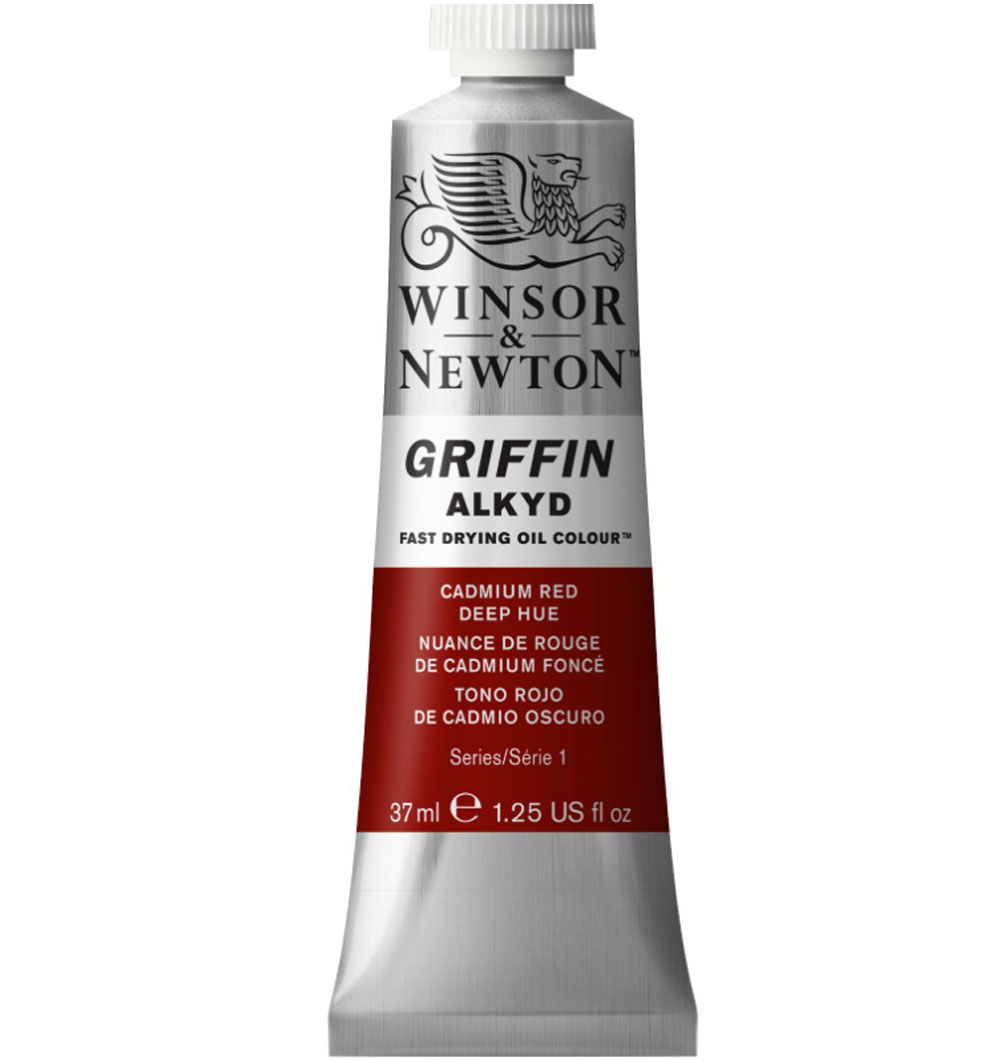 Griffin Alkyd 37Ml Cadmium Red Deep Hue