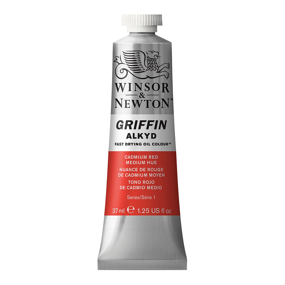 Griffin Alkyd 37Ml Cadmium Red Medium Hue