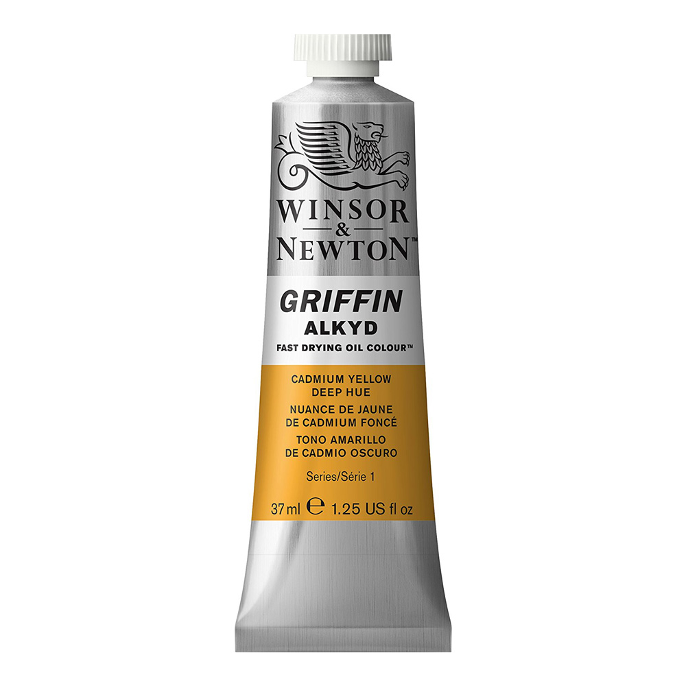 Griffin Alkyd 37Ml Cad Yellow Deep Hue
