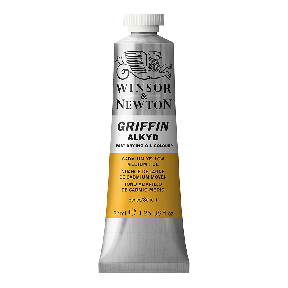 Griffin Alkyd 37Ml Cadmium Yellow Hue