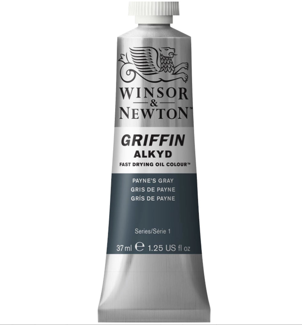 Griffin Alkyd 37Ml Paynes Gray