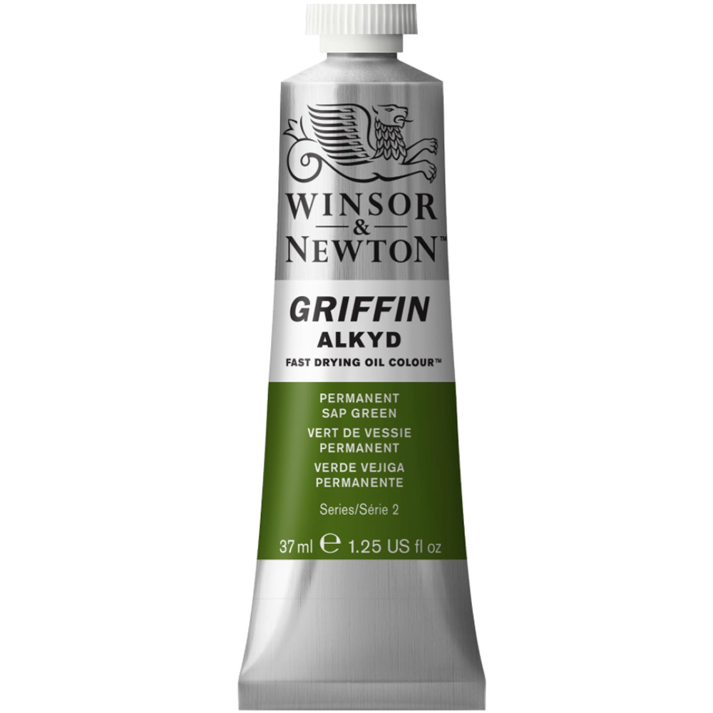 Griffin Alkyd 37Ml Permanent Sap Green