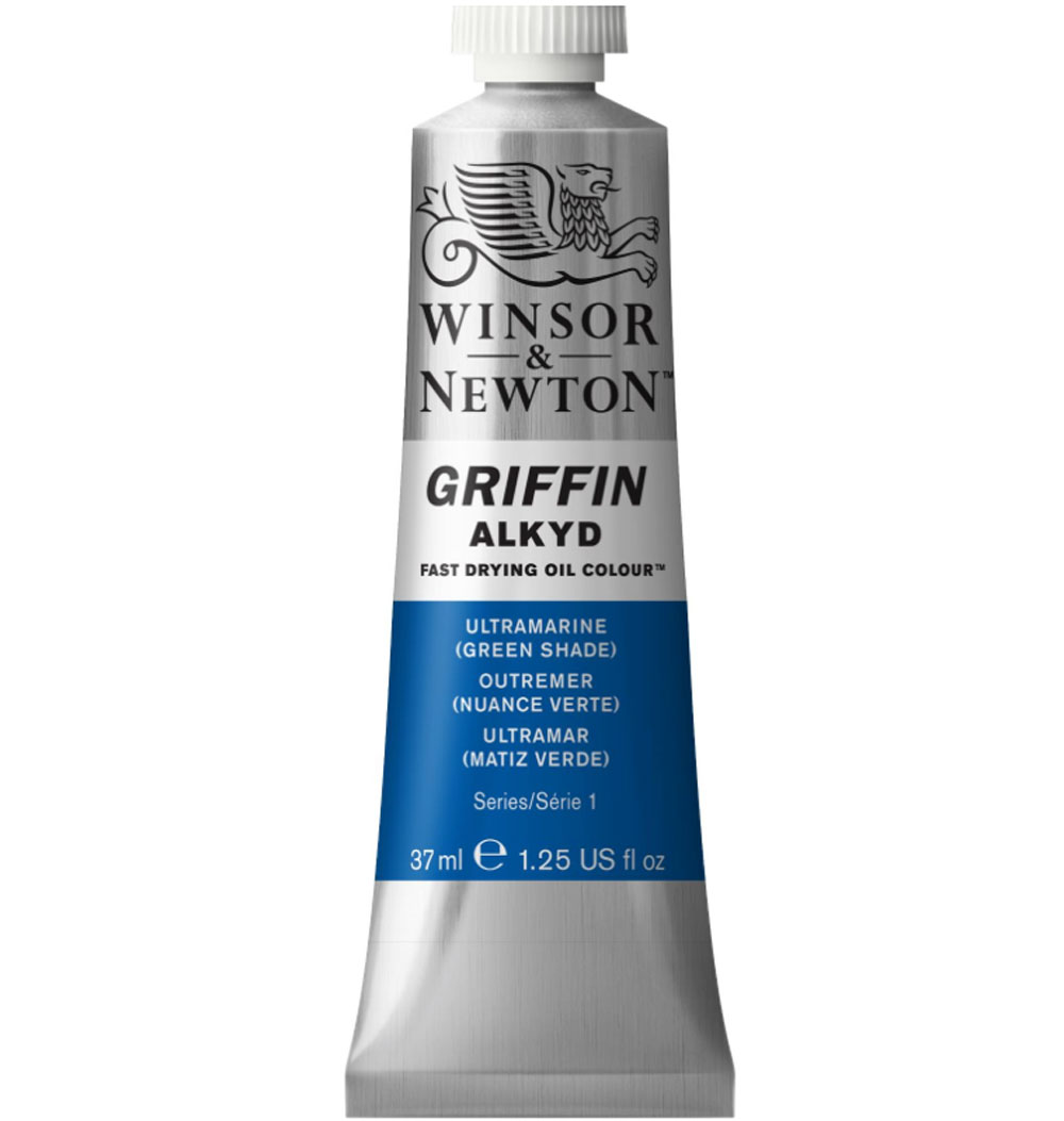 Griffin Alkyd 37Ml Ultramarine Green Shade