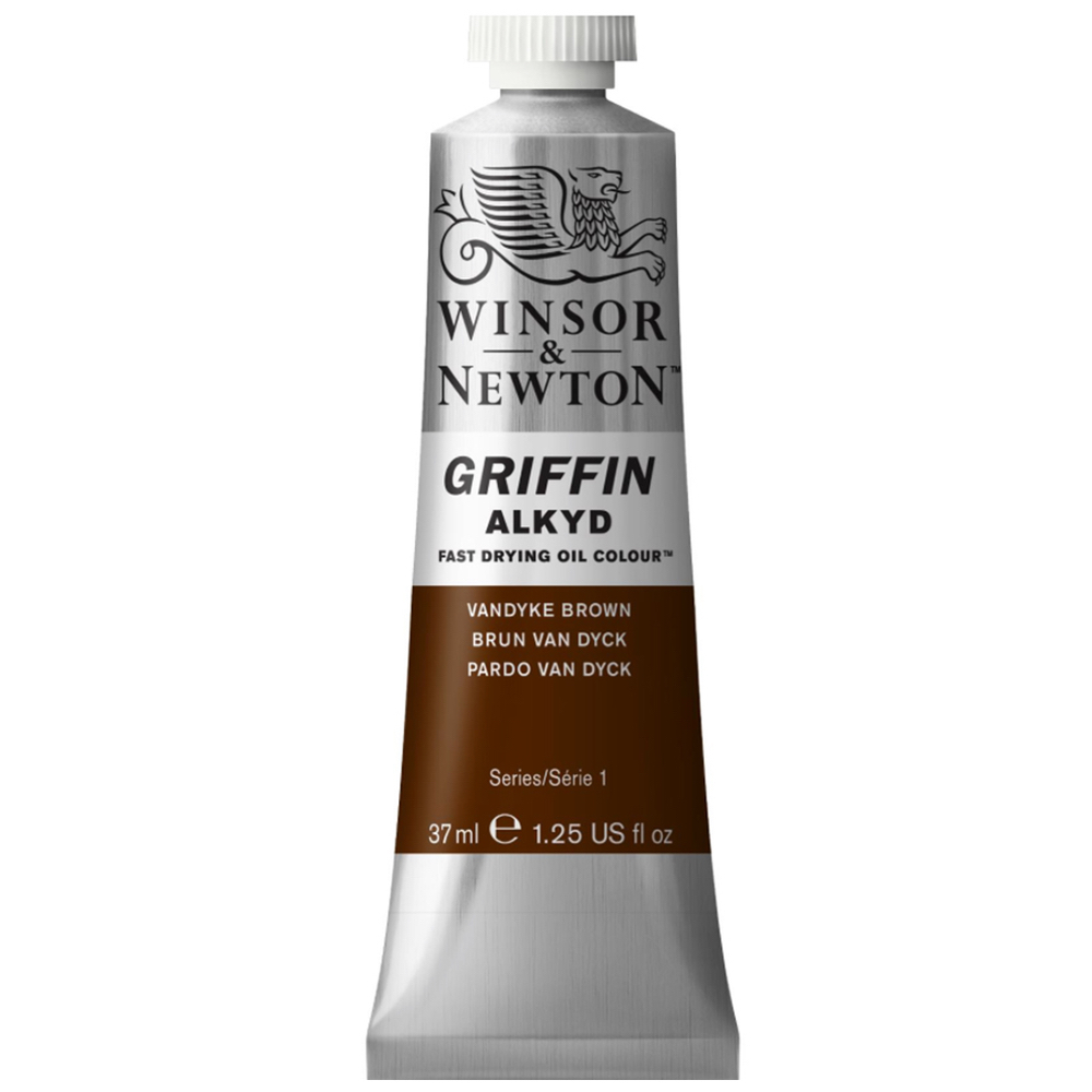 Griffin Alkyd 37Ml Vanydke Brown
