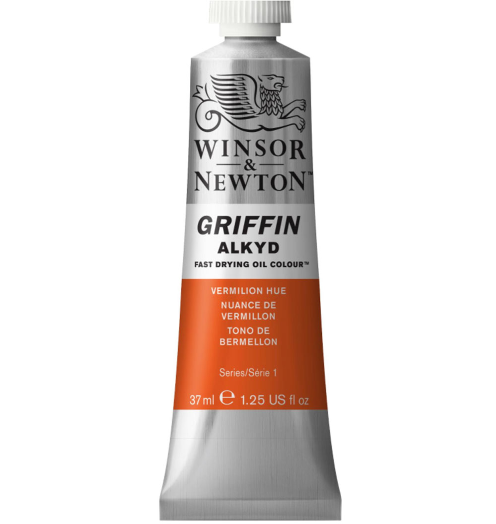 Griffin Alkyd 37Ml Vermilion Hue