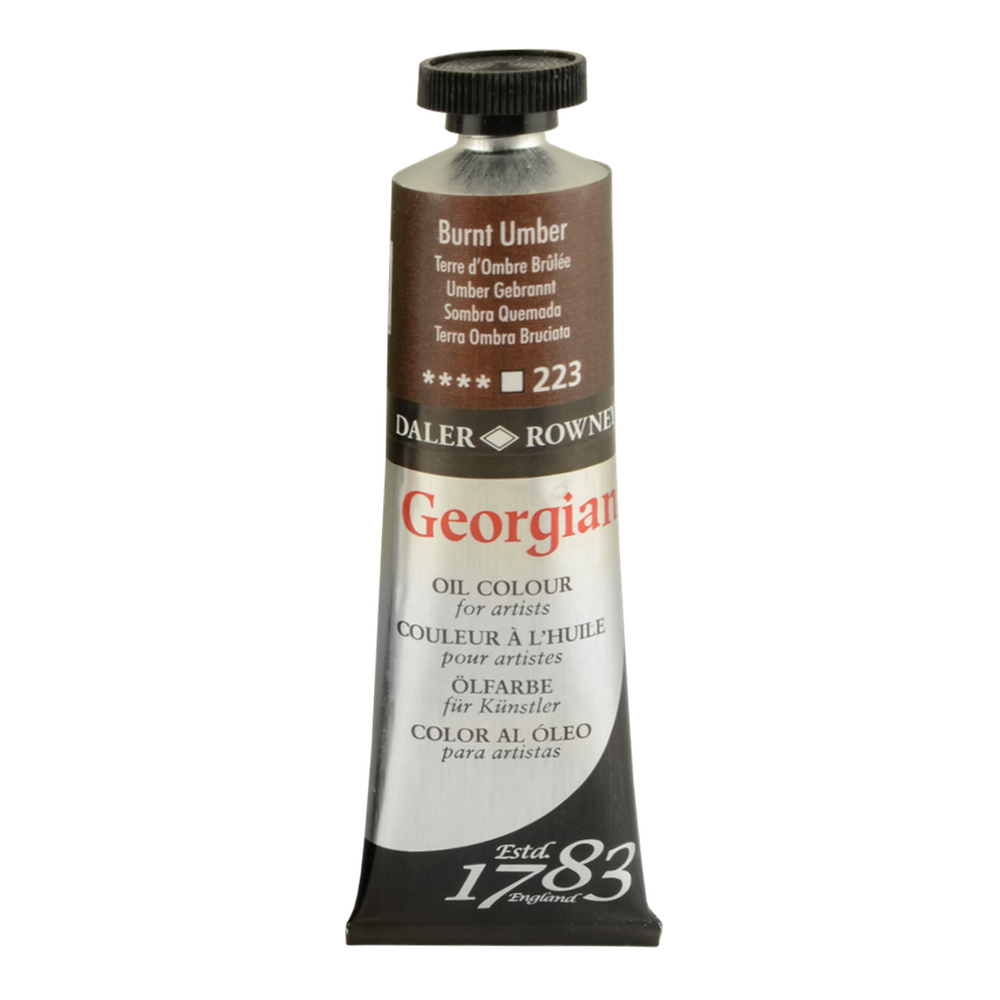 Georgian Oil 225Ml Burnt Umber