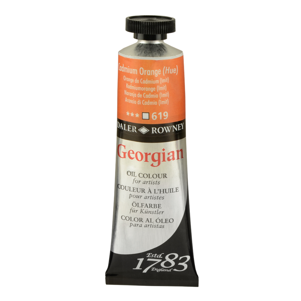Georgian Oil 38Ml Cadmium Orange Hue